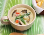 Japanese-style Dashi Clam Chowder
