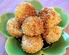 Fried Rice Flour and Tofu Dumplings