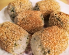 Browned Rice Balls with Green Laver