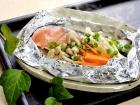 Foil-steamed Salmon