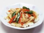 Crispy Rice with Sautéed vegetables