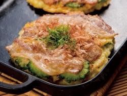 Goya and Pork Okonomiyaki